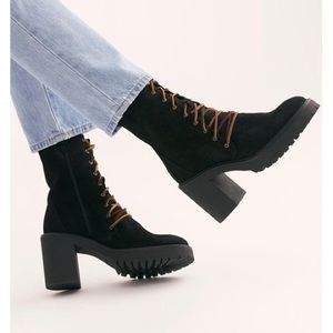 FREE PEOPLE Dylan Lace Up Booties